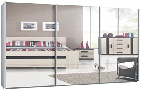 schwebet renschrank spiegelfront. Black Bedroom Furniture Sets. Home Design Ideas