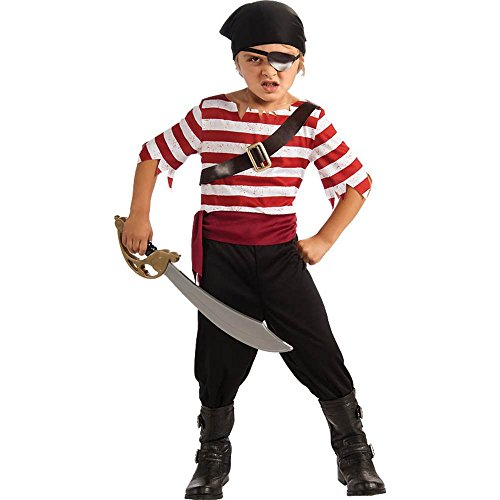 Halloween Sensations Child's Black Jack The Pirate Costume