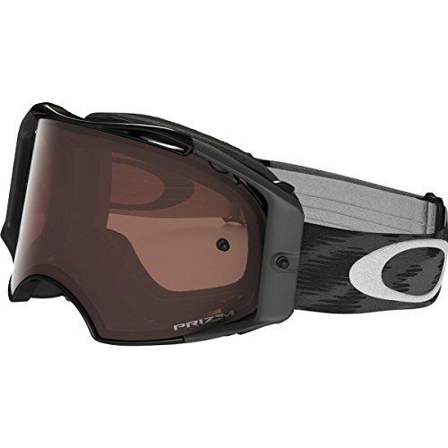 Oakley OO7046-46 Airbrake MX Jet wPrizmMX Bronze unisex-adult Goggles, Medium, - Oakley Goggles Strap