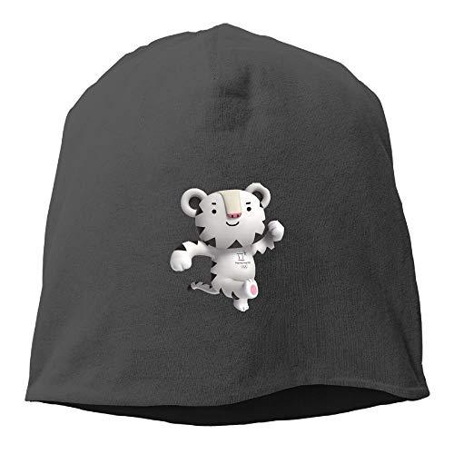 40b4a648ee4 Soohorang Pyeongchang 2018 Winter Olympics Mascot Cable Knit Skull Caps  Thick Soft   Warm Winter Beanie