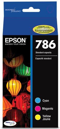 Epson T786520-S DURABrite Ultra Standard-Capacity Color Ink Cartridge, Multipack ()