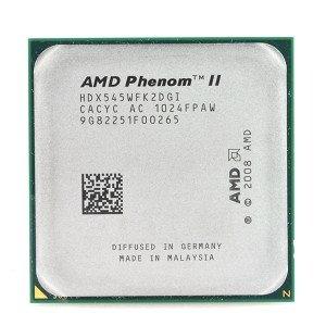 Dual Core 2x512kb L2 Cache - AMD Phenom II X2 545 3.0GHz 512KB/6MB L3 Socket AM3 Dual-Core CPU