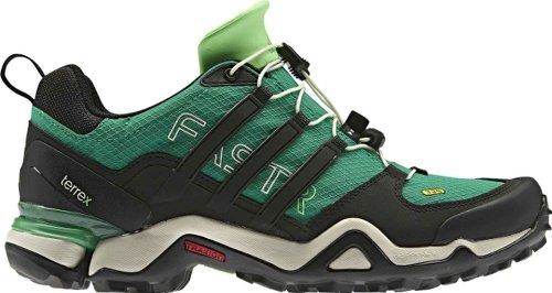 Adidas Outdoor Terrex Fast R Wandelschoen - Groen / Zwart / Groene Schil Voor Dames