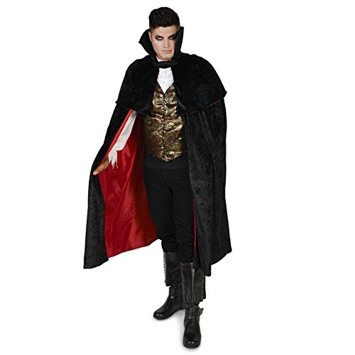 [Black Gothic Vampire Male Adult Costume L] (Adult Vampire Halloween Costumes)