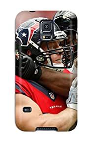 Tpu Case Cover For Galaxy S5 Strong Protect Case - Houston Texans Altimoreavens Design