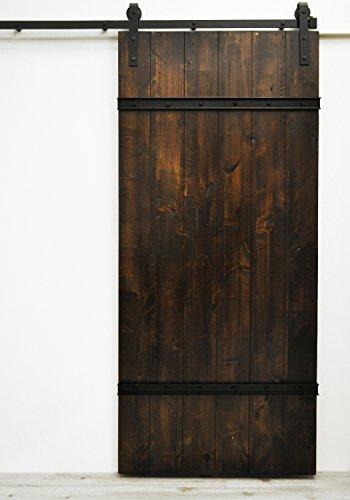 "Dogberry Collections Drawbridge Sliding Barn Door, 36""W x..."
