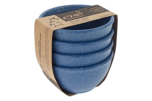 EVO Sustainable Goods 10 oz. Bowl Set, Blue