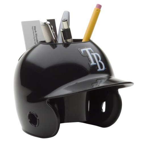 MLB Tampa Bay Rays Desk Caddy (Devil Clothes Rays Tampa Bay)