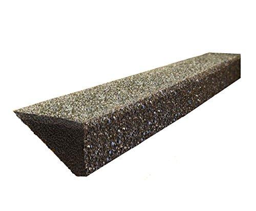 GutterStuff 4-Inch K Style Foam Gutter Filter Insert, 32 Feet