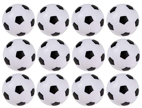 Cheapest Price! Foosball Balls Pack - 12-Count Mini Table Soccer Balls Replacements - Office and Hou...