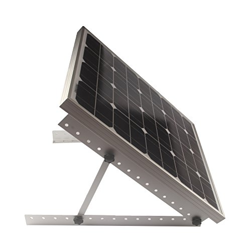 Adjustable Solar Panel Mount Mounting Rack Bracket Set