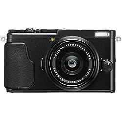 """Fujifilm X70 Fotocamera Digitale da 16 Megapixel, Sensore APS-C X-Trans CMOS II, Obiettivo 18.5 mm, f/2.8, Schermo LCD 3"""" Touch Screen Orientabile a 180°, Otturatore Centrale, Nero"""