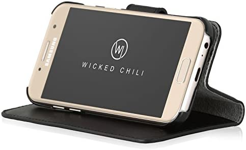 Wicked Chili «TRAVEL» funda de cuero genuino para Samsung Galaxy A3 2017 (SM-A320): Amazon.es: Electrónica