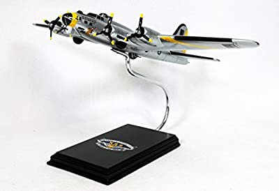 Mastercraft Collection Boeing B-17G Liberty Bell Flying Fortress World War II Bomber USAAF Army Air Forces Royal Air Force Plane Aircraft Airplane Model Scale:1/62