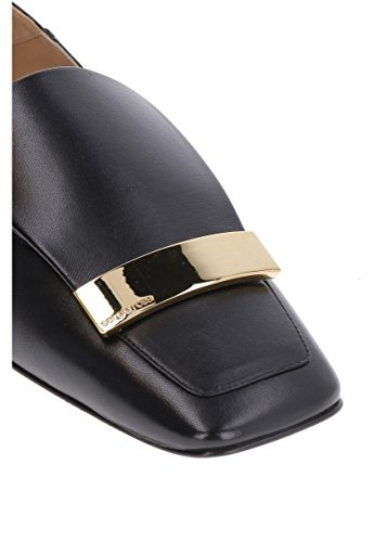 discount visit new Sergio Rossi Women's A77990MNAN071000 Black Leather Loafers cheap recommend low shipping cheap price amazon online cheap sale manchester great sale eA66key