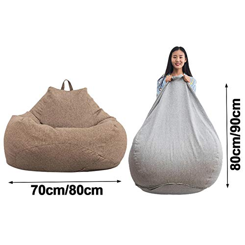 WARM ROOM Lazy Puff Sofas Impermeable Forro Interior Animal ...