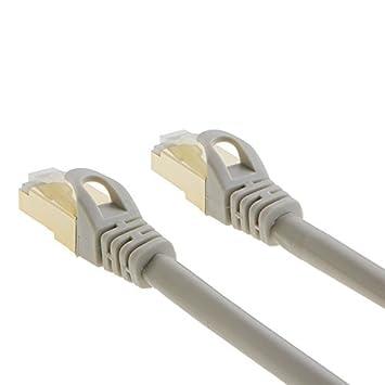 Beige 20m Computer CableCreation CAT7 Ethernet Cable Router SSTP High Speed RJ45 LAN Network Cord Compatible Modem 66ft Double Shielded 10 Gigabit 600MHz Ethernet Patch Cable