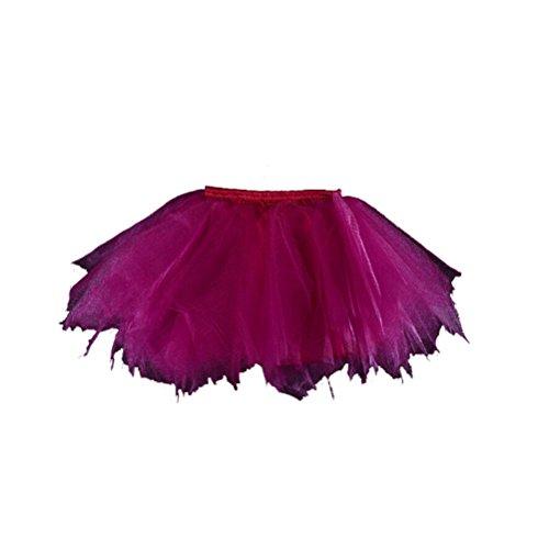 Honeystore Girl's Puffy Dance Dress-Up Princess Fairy Costume Dance Tutu (Fairy Costume Tutorial)