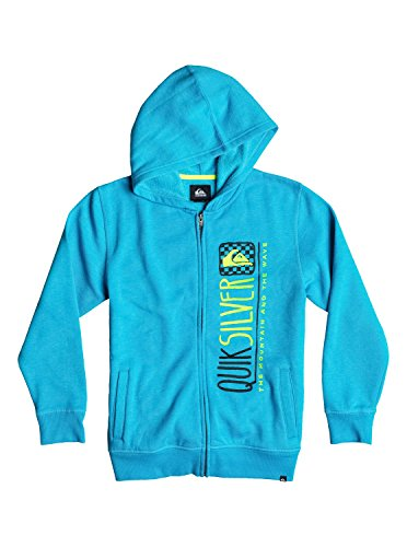 Quiksilver Boys Triangular Hoodie Jacket Blue 5