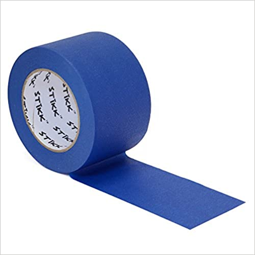 1pk 7,6/cm X 54,9/m Stikk Bleu Peintres ruban 14/Jour Nettoyer Release Bordure ruban de masquage de finition /– en 72/mm