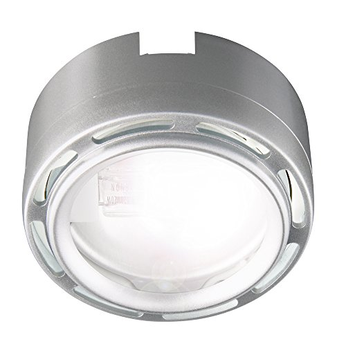 Good Earth Lighting Add-On Xenon Plug In Puck Light, Stainless Steel