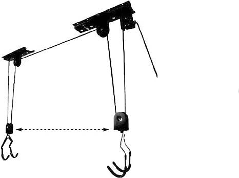 ONOGAL Elevador de Bicicleta Ganchos Sistema Poleas para ...