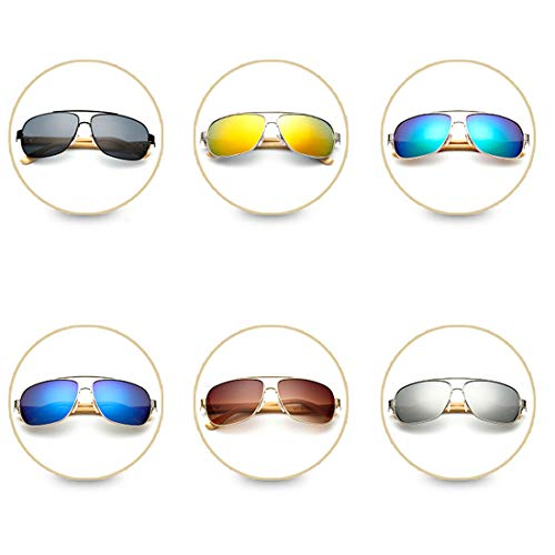 la TP de UV400 Sol Wayfarer Vendimia Libre Retro de de Aire Sol Gafas Deportes Aviator Color al de de Gafas de 4 3 Madera diseñador 1rxnCwrAq