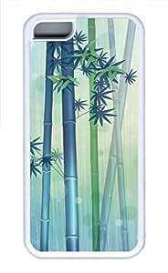 APPLE iPhone 5C Case - Bamboo Cool Retro Customize iPhone 5C Cover White