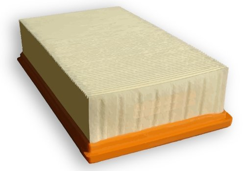 Absolument Filtre Kallefornia k741pour Kärcher NT 35/1et NT 45/1Filtre plissé plat universelle pour 6.904–360Filtre plissé plat de la poussière Classe L