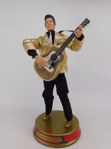 Gemmy Elvis Presley Animated Musical Doll Figure SINGS