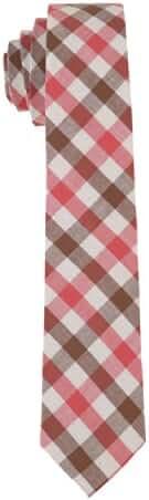 Skinny Tie Madness Men's Plaid 2