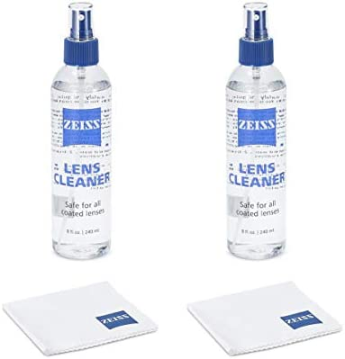 30fce371a1339 4 Pack Zeiss Lens Cleaner Spray 8 Oz Bottles for Glasses Camera Laptops  Cellphones (32oz) + 4 Microfiber Cleaning Cloths (4)