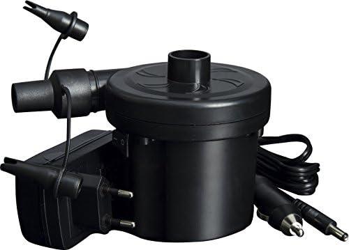 Black Bestway 12 V Sidewinder AC//DC Air Pump