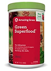 This thoughtfully crafted blend combines our alkalizing farm fresh greens and wholesome fruits and veggies with nutrient-rich superfoods.  With a refreshing berry flavor it's a delicious way to feel amazing every day. At Amazing Grass our roots run d...