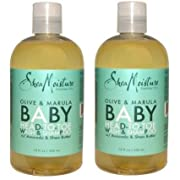 Shea Moisture - Olive & Marula Baby Head-to-Toe Wash & Shampoo with Avocado & Shea Butter - 13 oz. Set of 2