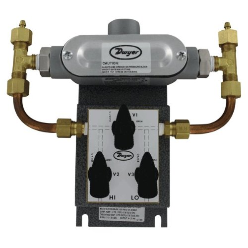 Dwyer 629-05-CH-P2-E5-S1-3V Wet Differential Pressure Transmitters