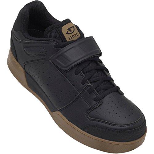 Giro GF21180 Mens Chamber Dirt Bike Shoes, Black/Gum - 41