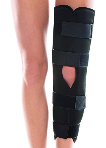 TOROS-GROUP Adjustable Tri-Panel Knee Immobilizer Brace - Height 15½