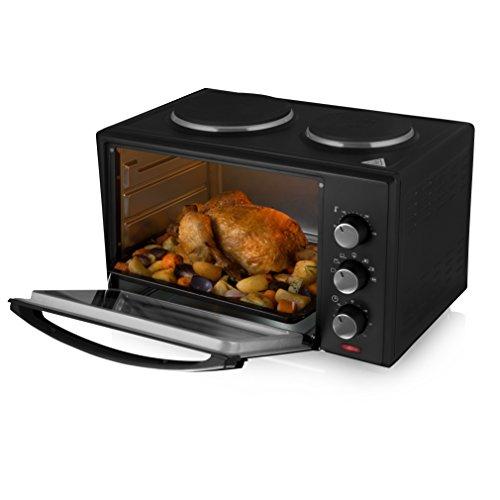 Tower Mini Oven and Grill, 23 L, 1500 W, Black