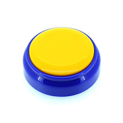 Neutral 20S Voice Recorder Talking Button Yellow and Blue