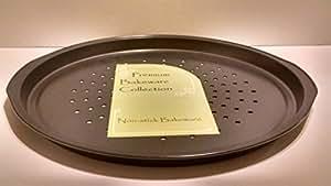 Premium Bakeware 15 Inch Pizza Crisper Pan with Holes