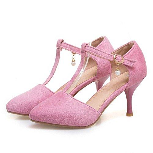 Salomés Talon à TAOFFEN Aiguille Femmes Pink Escarpins SZnIxAqa