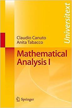 Mathematical Analysis I: v. 1 (Universitext)