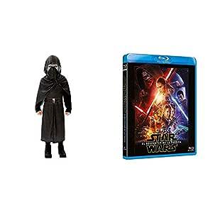 The Force Awakens Blu-Ray + DISFRAZ KYLO REN EP7 DELUXE INF ...