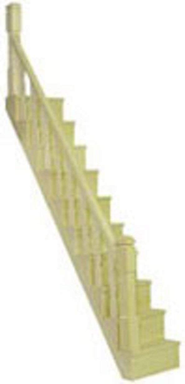Amazon.es: Melody Jane Constructores Casa de Muñecas Madera Bricolaje Miniatura Simple Escalera Bannister Kit Escalera: Juguetes y juegos