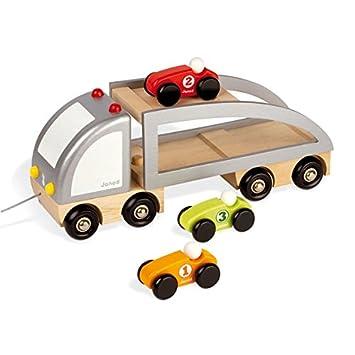 imaison  Janod  J05603  Camion multi bolides Bois