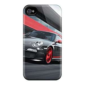 Premium Protection 2011 Porsche 911 Gt3 Rs Cases Covers For Iphone 4/4s- Retail Packaging