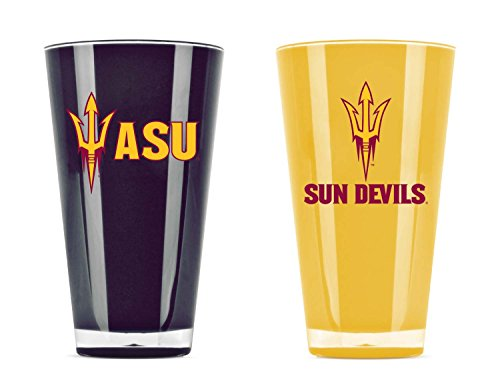 - NCAA Arizona State Sun Devils 20oz Insulated Acrylic Tumbler Set of 2