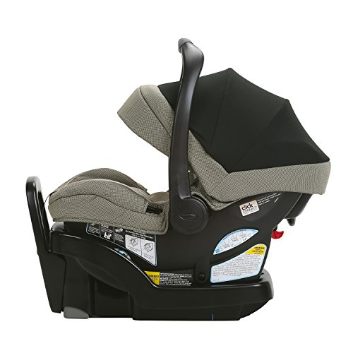Graco SnugRide SnugLock Extend2Fit 35 Infant Car Seat | Ride Rear Facing Longer with Extend2Fit, Haven