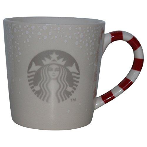 Christmas Candy Cane Mug - Starbucks Candy Cane Mug Christmas 2016, New Logo, 12oz